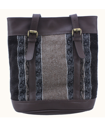 Amaru Alpaca Brown Handbag