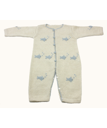 Blue Fish Baby Gro