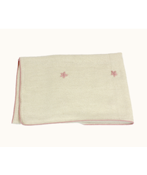 Baby Blanket - Pink Star
