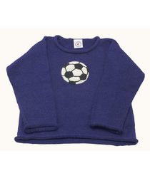 Football Blue Sweater