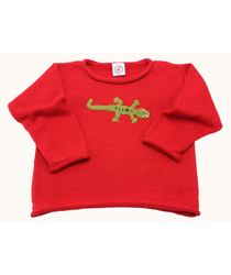 Gekko Red Sweater