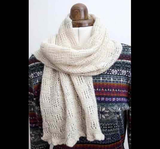 Scarf Knitting Kits Uk : Knitting kit laceweight scarf county alpacas