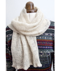 Knitting Kit - Laceweight scarf